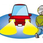 秋は夕方の交通事故死が多い?〜視力低下と反射材