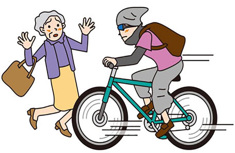 自転車に対する道交法のあり方を考えさせられる事故